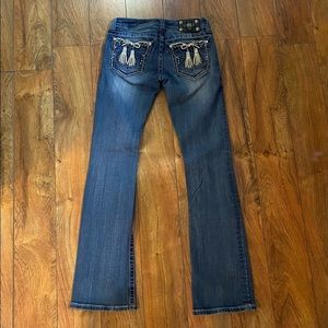 Beautiful Miss Me boot jeans